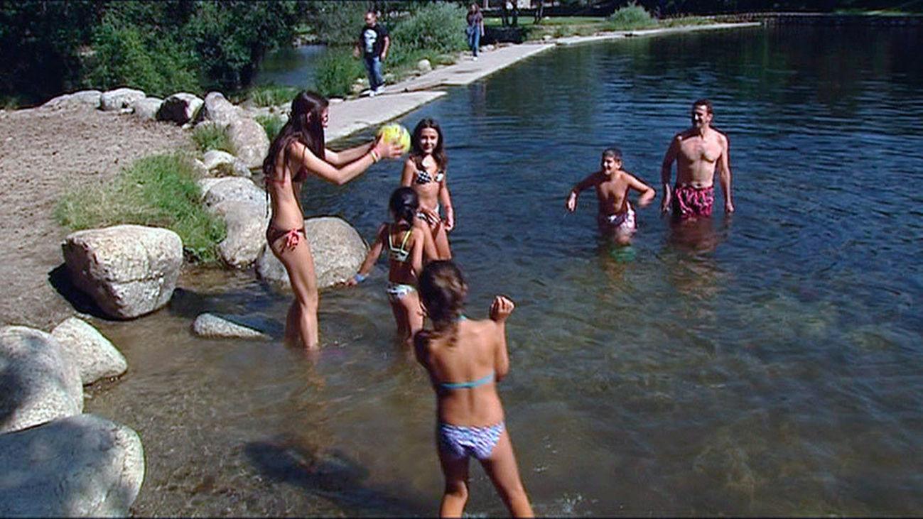 Las Presillas de Rascafría, una de las cinco zonas de baño con el visto bueno de la Comunidad