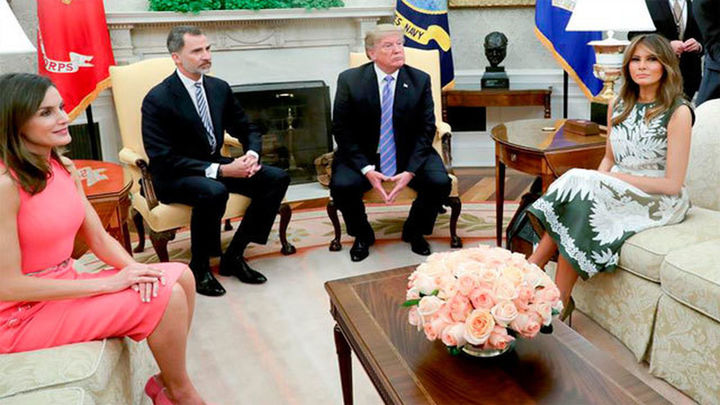 """Felipe VI asegura que España y EEUU comparten """"el aprecio por la democracia"""""""