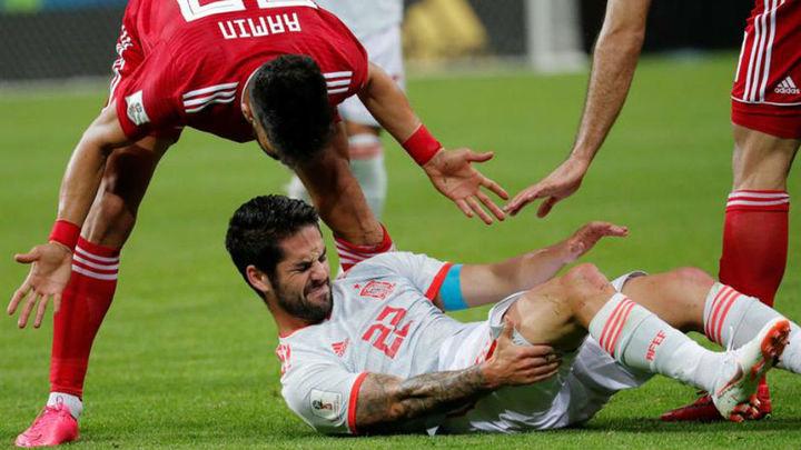 """Isco: """"Irán usó todas las triquiñuelas que hay en el fútbol"""""""