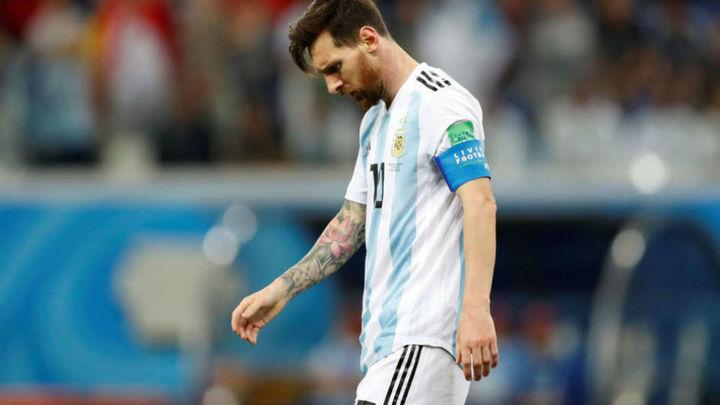 Messi, al borde del abismo