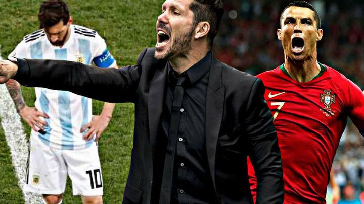 Un polémico audio de Simeone pone en duda la calidad de Messi