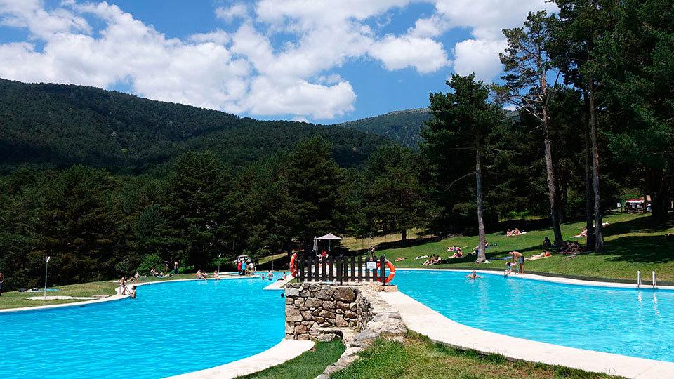 Abren las piscinas de Las Berceas en Cercedilla
