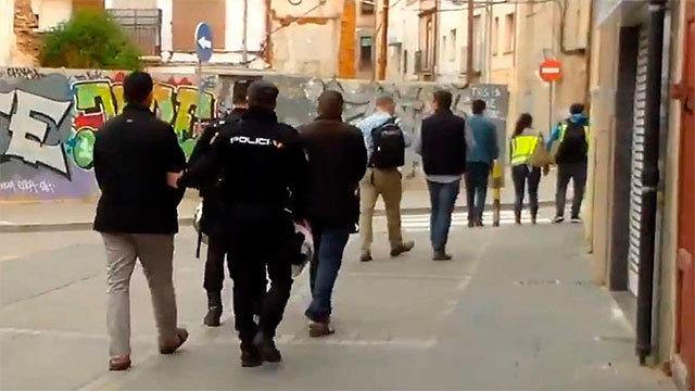 Detenidos por la Policía Nacional