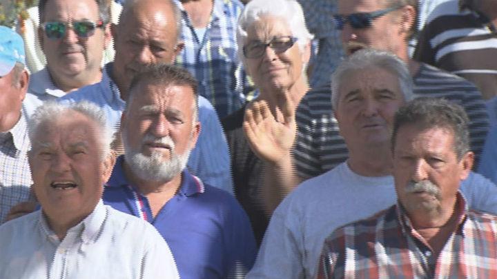 Protesta de los agricultores en Torremocha