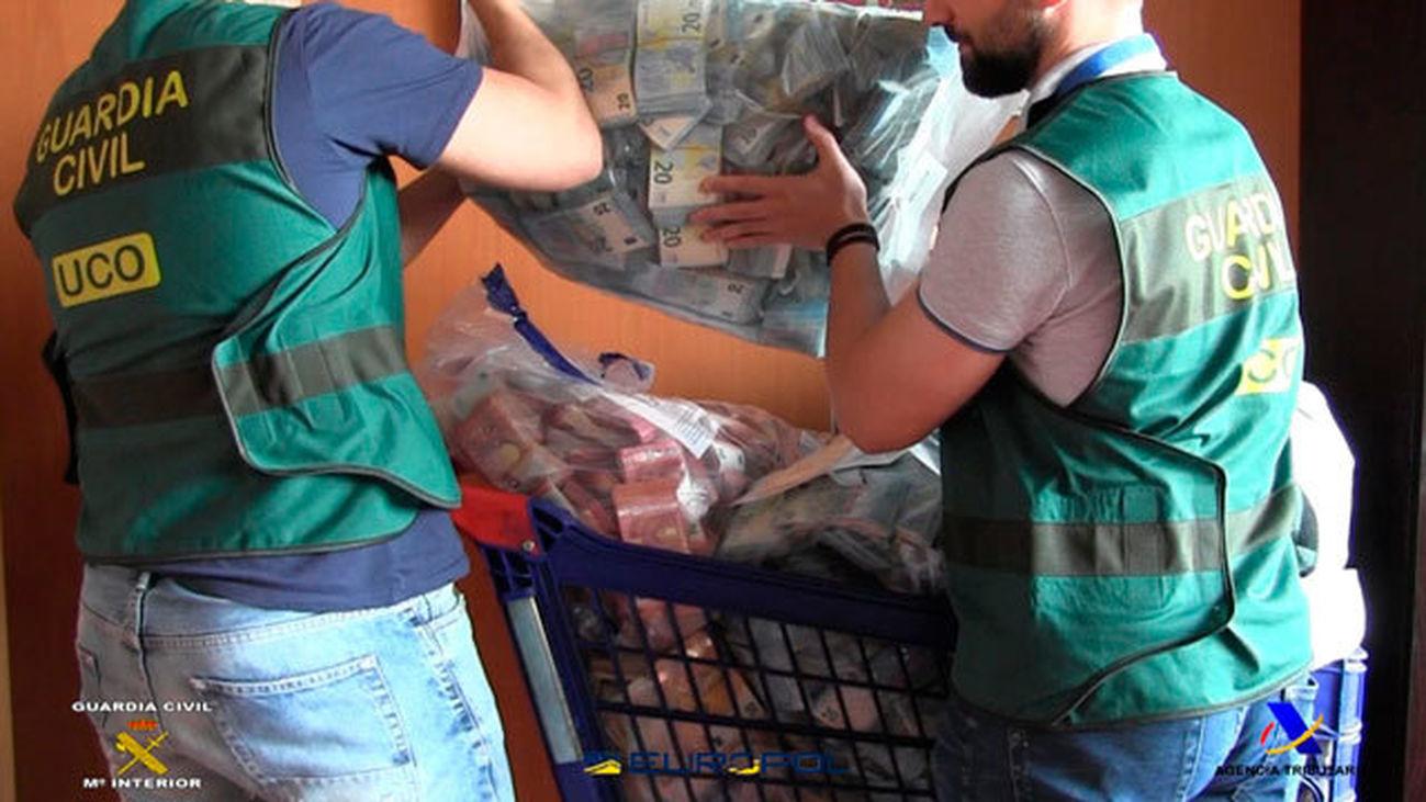 La UCO interviene 8 de los 40 millones que evadió una red de falsificaciones chinas