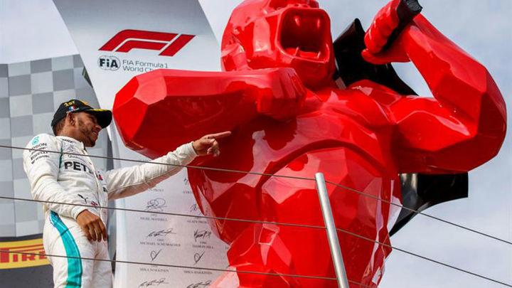 GP Francia: Exhibición de Hamilton; Sainz 8º y Alonso último