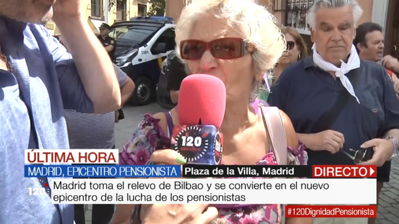 Madrid, epicentro de los pensionistas