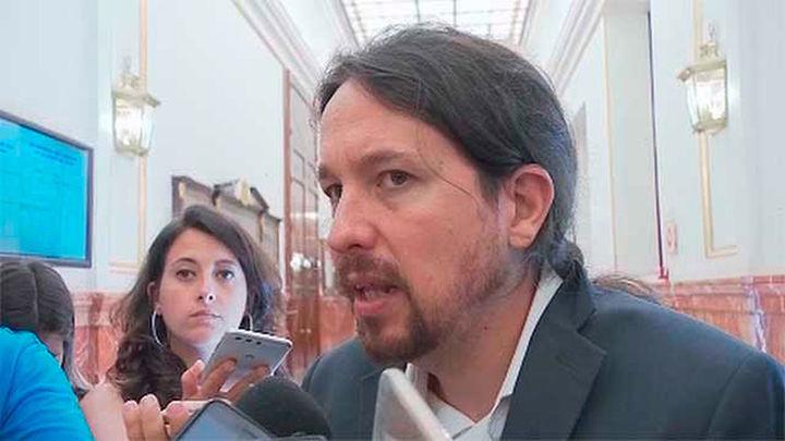 """Iglesias visita a Cuixart y Sànchez en  la prisión: """"No deberían estar en la cárcel"""""""