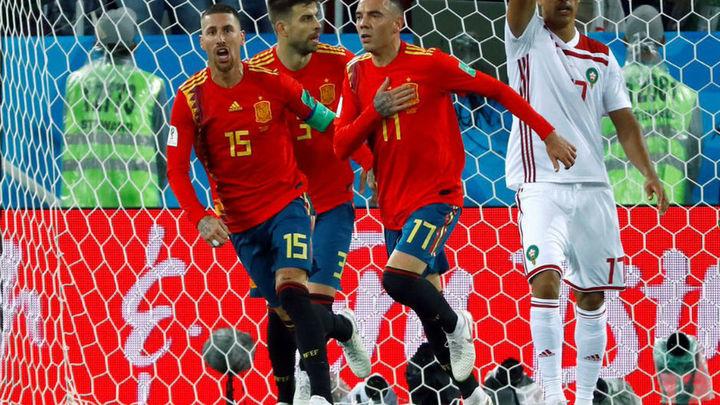 2-2. España primera de grupo sin saber ni cómo
