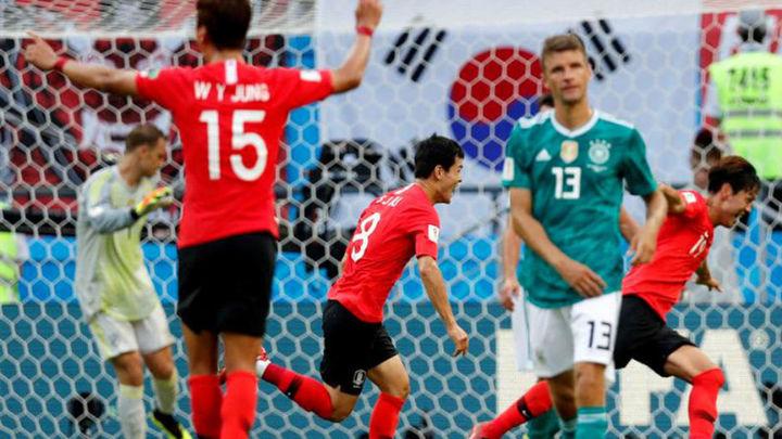 0-2. Alemania se pega el mayor batacazo de su historia