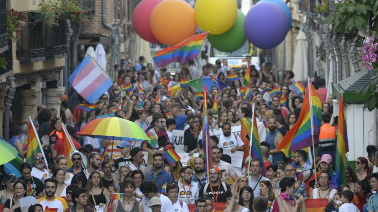 Medio millar de personas participan en la semana del Orgullo LGTBIQ+ 2018 de Alcalá
