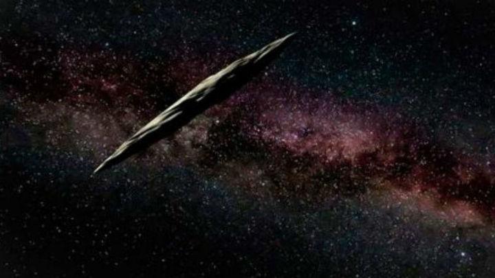 El Oumuamua, que llegó de fuera del Sistema Solar, es un cometa