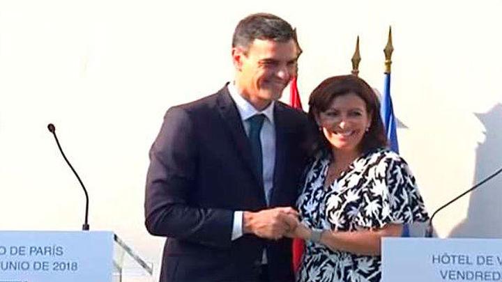 """Hidalgo a Sánchez: """"Salvaste el honor de Europa"""""""