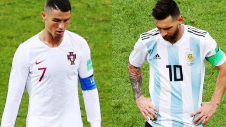 Cristiano y Messi se despiden del Mundial