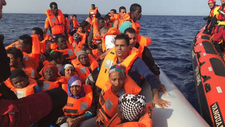 Open Arms solicita desembarcar en el puerto español a 60 rescatados en Libia