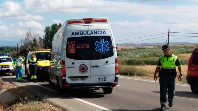 Muere un ciclista tras chocar con una furgoneta en Algete