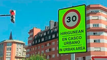 Bilbao estrena límite de velocidad a 30  kilómetros la hora en el 87 por ciento de sus vías