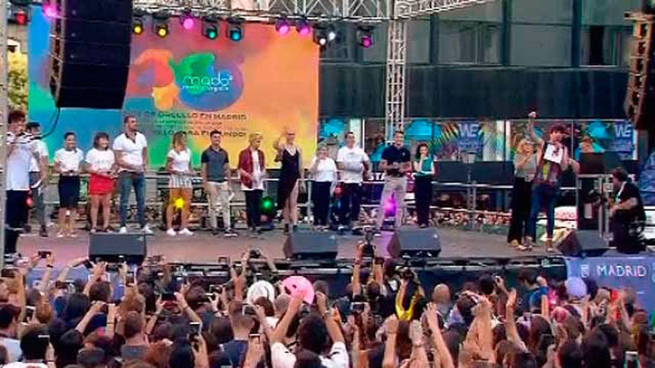 """El pregón da comienzo a las fiestas del Orgullo 2018: """"No nos vamos a acomodar"""""""