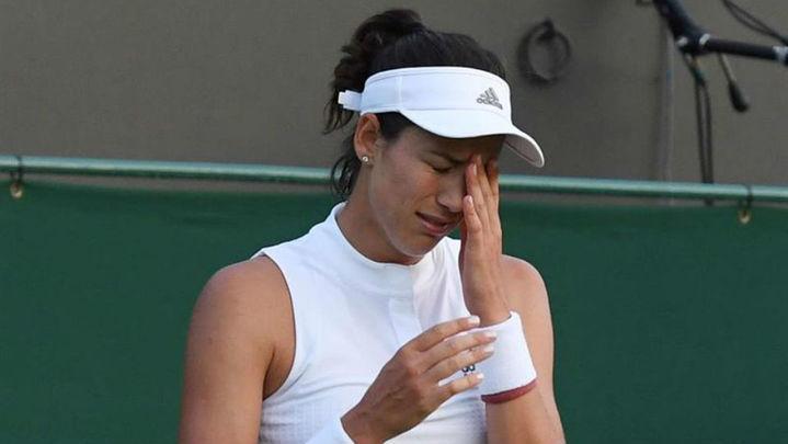 """Muguruza tras fracasar en Wimbledon: """"No he estado a la altura"""""""