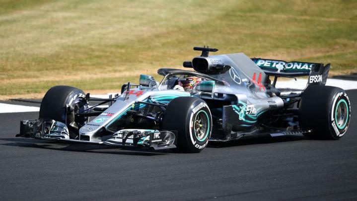GP Gran Bretaña: Hamilton manda con Alonso 6º y Sainz 11º