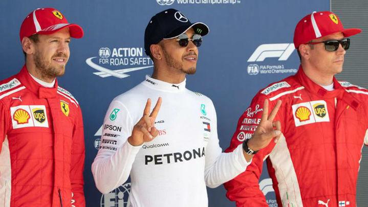 GP Gran Bretaña: Hamilton, pole en casa, con Alonso 13º y Sainz 16º