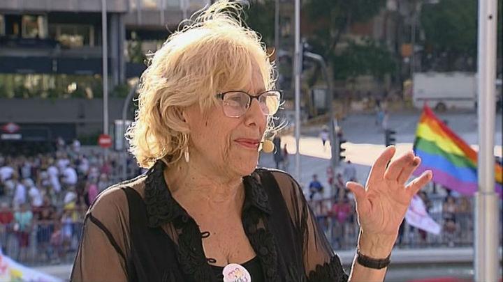 """Carmena: """"El feminismo es el marco en el que pueden desarrollarse todos los movimientos"""""""