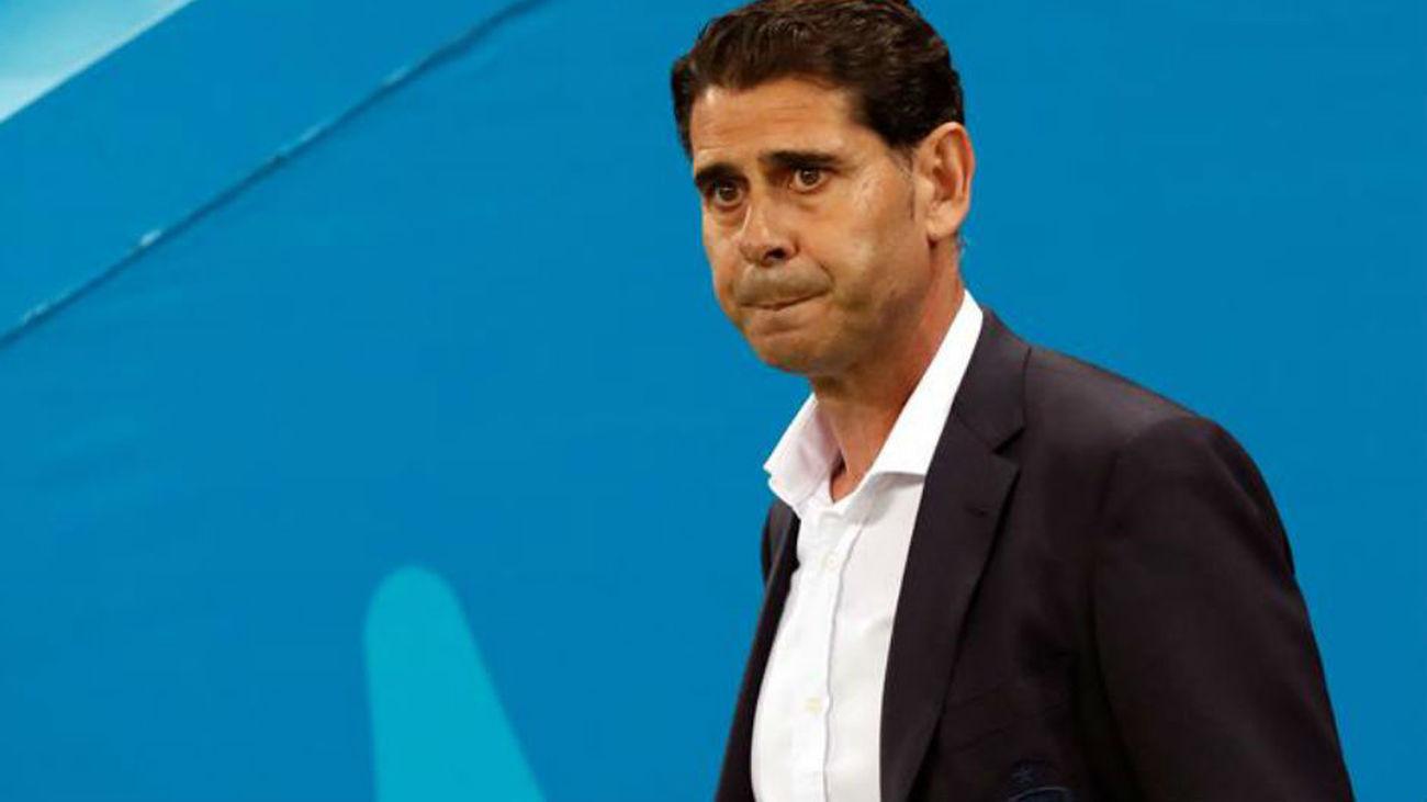 Fernando Hierro abandona la Federación