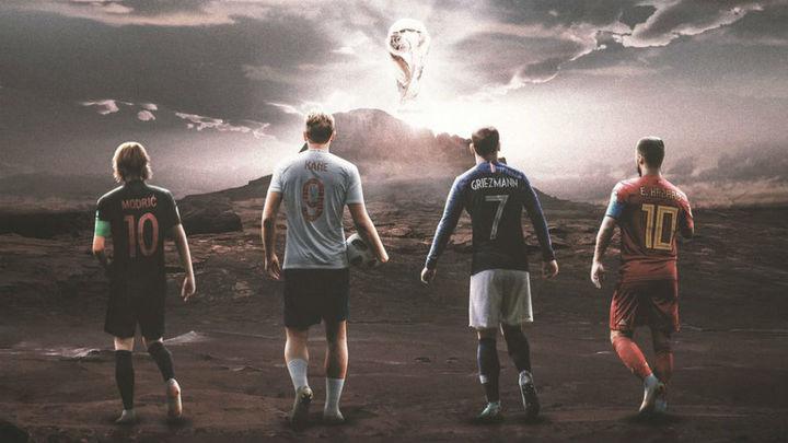 Francia, Bélgica, Inglaterra y Croacia jugarán las semifinales