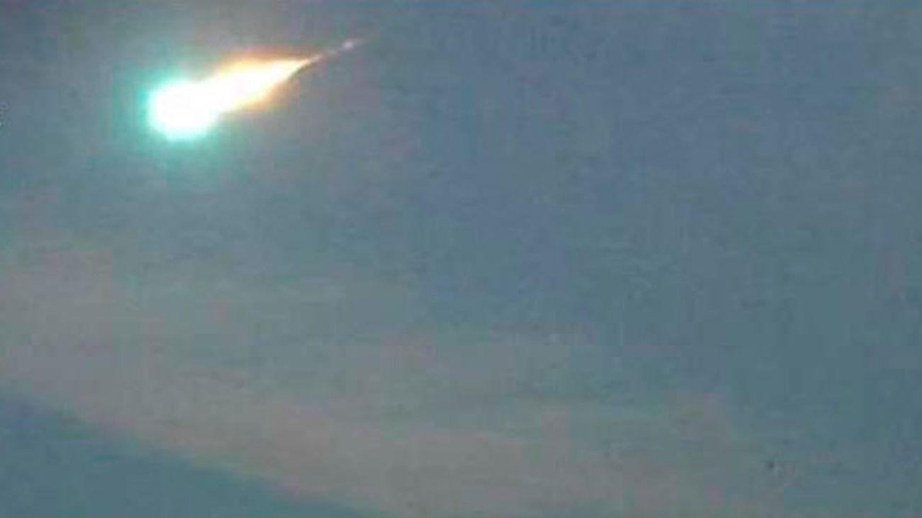 Imagen del meteorito