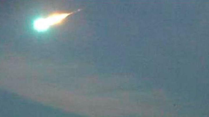 Un meteorito atraviesa esta noche la Península Ibérica