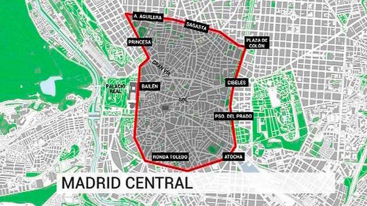 El Ayuntamiento presenta Madrid Central, el gran area de acceso restringido