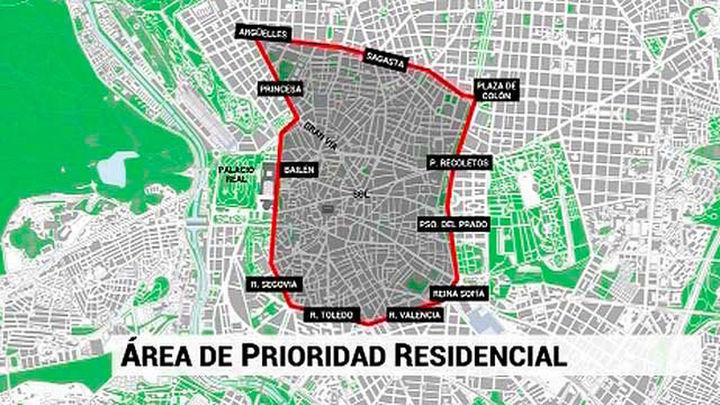 El centro de Madrid se cierra en noviembre para los coches sin distintivo ambiental