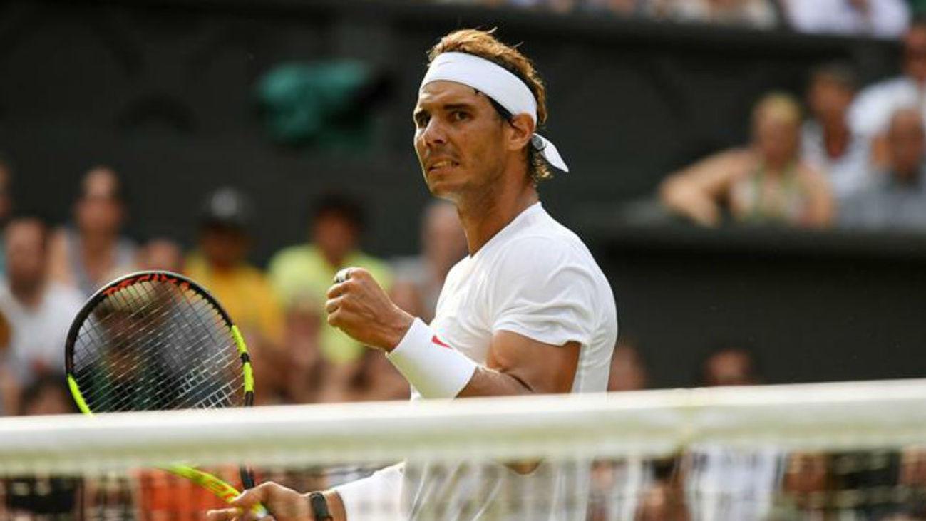 Wimbledon: Nadal, a cuartos sin ceder un set
