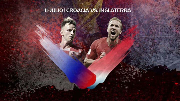 Croacia e Inglaterra, de poder a poder