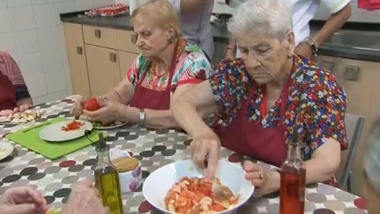 Terapia de cocina para enfermos de Alzheimer