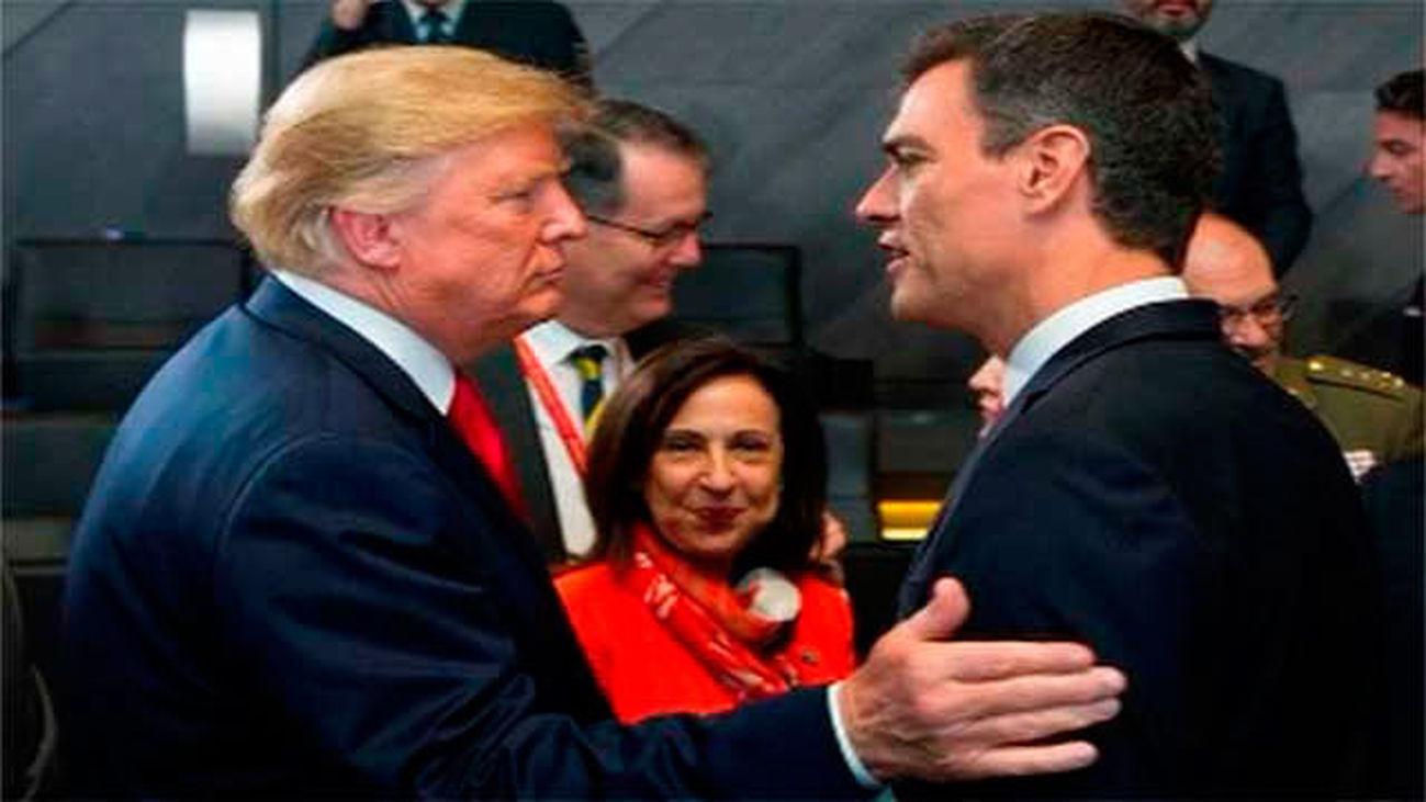 Trump pide elevar el gasto militar al 4 % del PIB entre críticas a Alemania