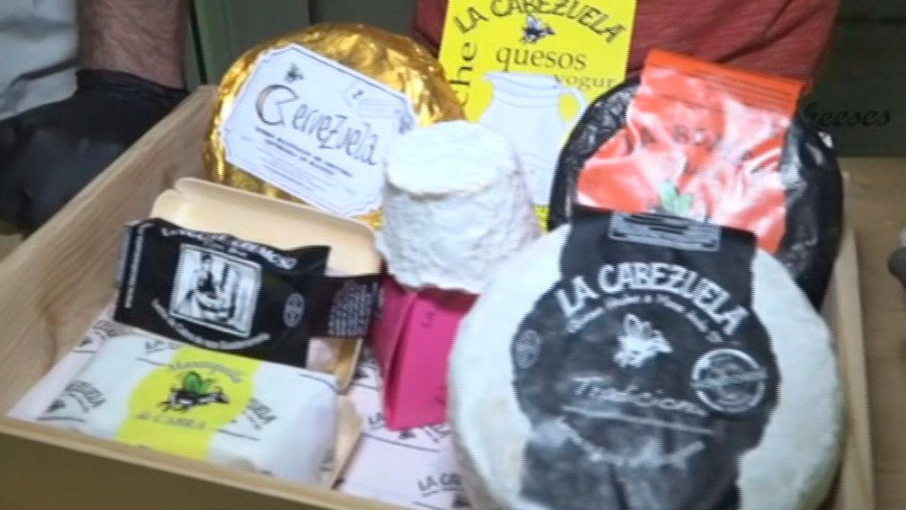 Los quesos ecológicos de Fresnedillas de la Oliva reconocidos en todo el mundo