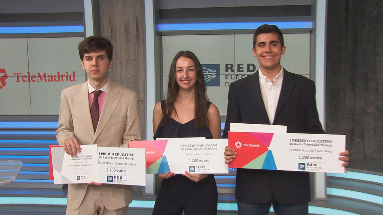 Telemadrid premia a los alumnos más sobresalientes de la comunidad