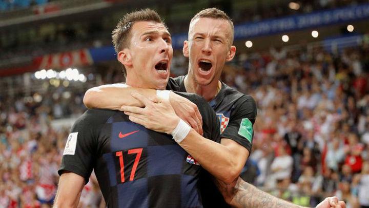 2-1. Croacia llega a la final de un Mundial por primera vez en su historia