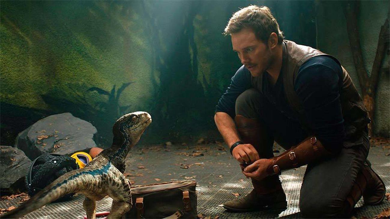 Escena de 'Jurassic World: el reino caído'