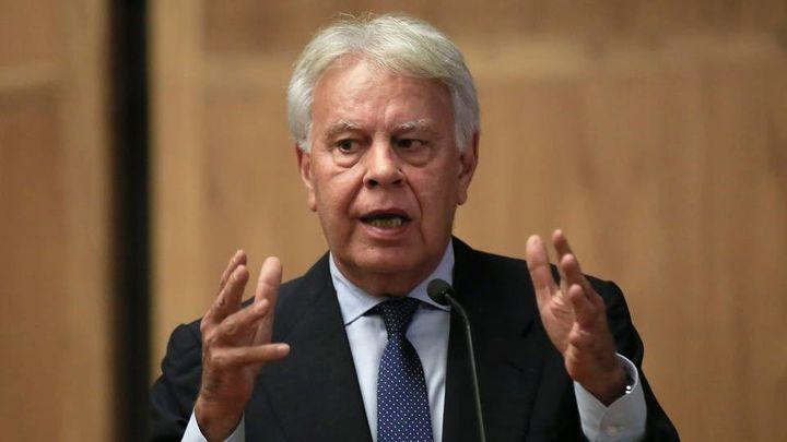 Felipe González alerta de que la crispación puede derivar en una crisis de Estado