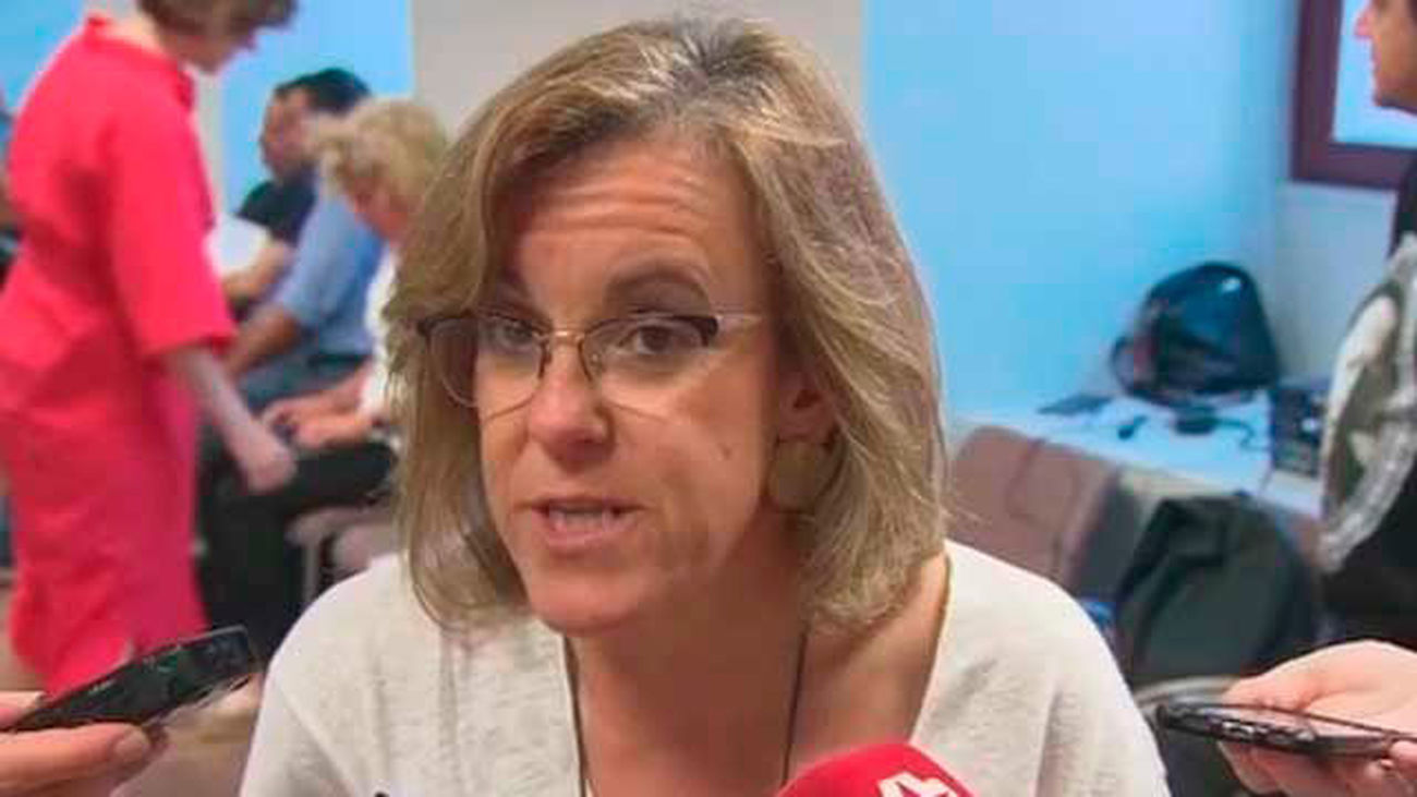 Purificación Causapié, portavoz del PSOE en el AYuntamiento de Madrid