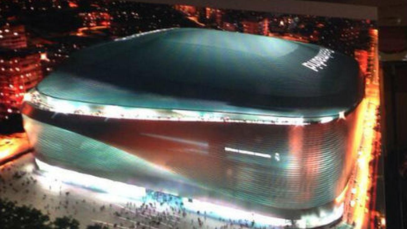 Florentino presenta el Bernabéu del siglo XXI