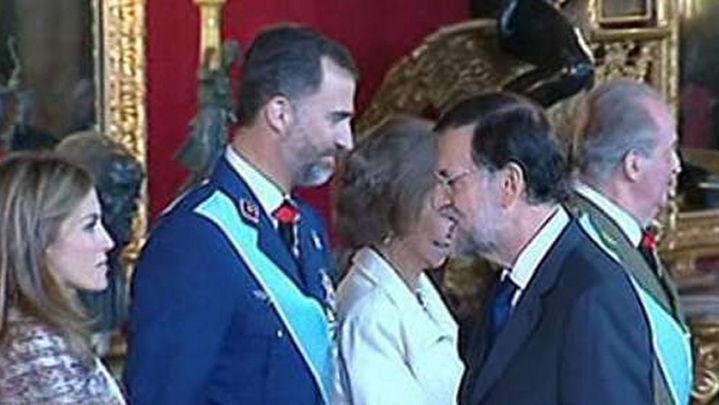 """Rajoy avanza que su primer despacho con Felipe VI será """"prontísimo"""""""