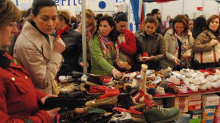Durante todo el fin de semana tiene lugar en Getafe, la feria del stock.