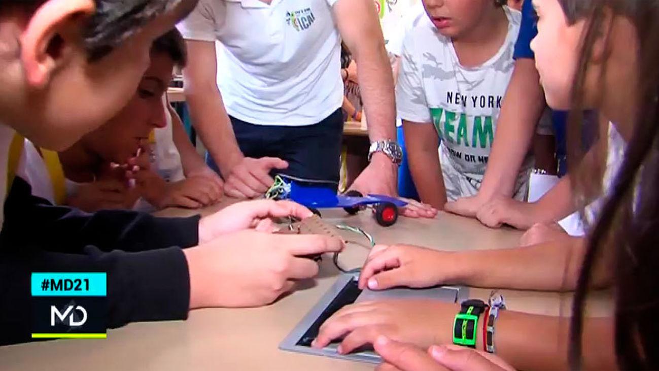 Campamentos tecnológicos para niños y jóvenes