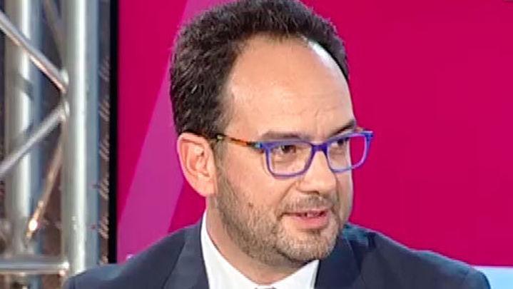 Antonio Hernando asegura que Pedro Sánchez insiste en que quiere formar Gobierno, si Rajoy declina esta opción