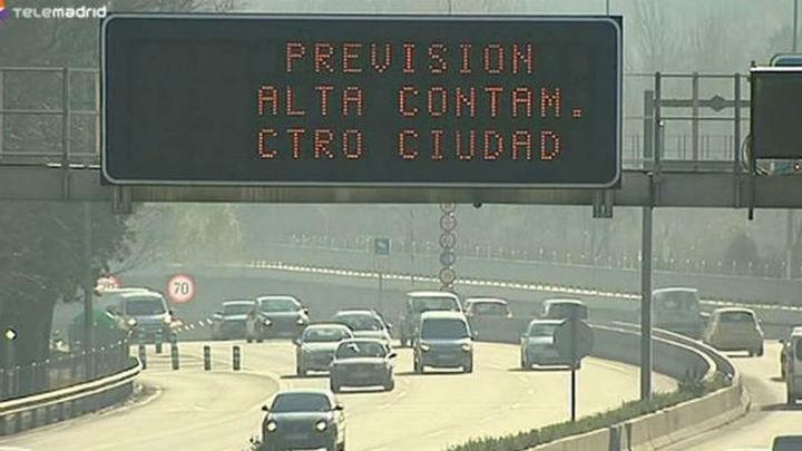 El nuevo protocolo anticontaminación de Madrid entrará en vigor el 8 de octubre
