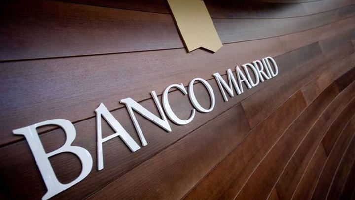 Los fondos del Banco Madrid siguen bloqueados a la espera de una solución para la entidad