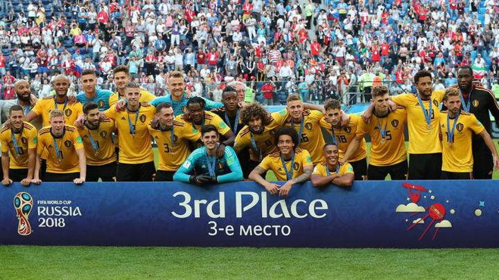2-0. Bélgica, tercera del Mundial tras ganar a Inglaterra